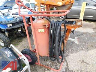 Large Wheeled Badger Fire Extinguisher