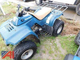 1997 Kawasaki Bayou KLF2200A ATV