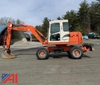 2002 Schaeff HML 41 Wheeled Excavator