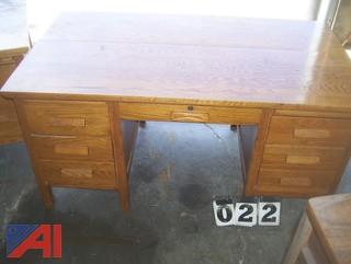 Wooden Desk, E#39785