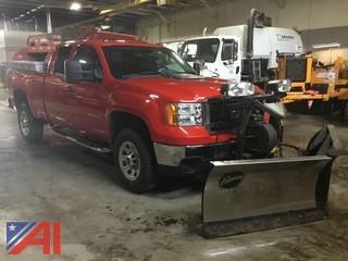 2012 GMC Sierra 2500HD Pickup Truck & Plow