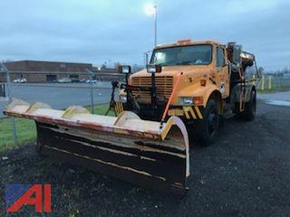 2002 International 4700 Truck with Plow and Sander