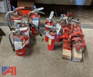 Fire Extinguishers & Brackets