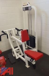 Life Fitness Seated Row Machine