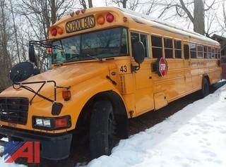 (#43) 2006 Blue Bird Vision School Bus