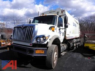 (#2) 2008 International 7600 Garbage Truck