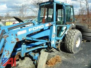 (#3) Ford 2120 Front End Loader Tractor