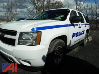 (#7)  2011 Chevy Tahoe SUV/Police Vehicle