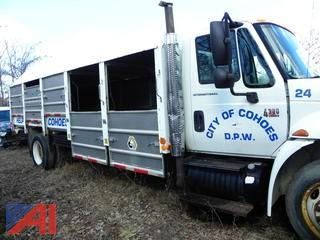 (#15)  2003 International 4300 Curb Sorter Recycling Truck