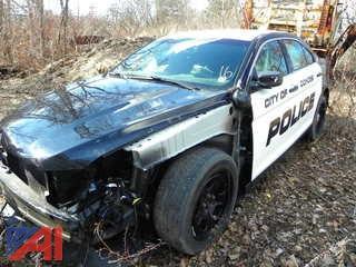 (#16) 2016 Ford Taurus 4 Door/Police Vehicle