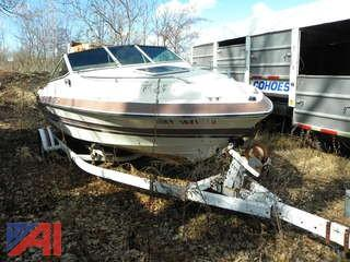 (#17) Sea Ray Boat and Trailer