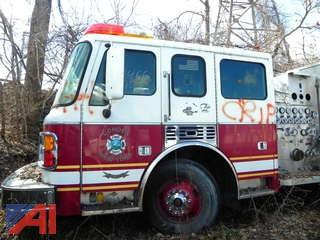 (#18) 1998 American LaFrance Eagle Pumper Truck