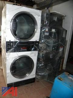 Speed Queen Commercial Double Dryers
