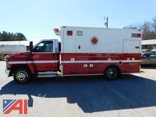 2006 GMC C5500 Ambulance