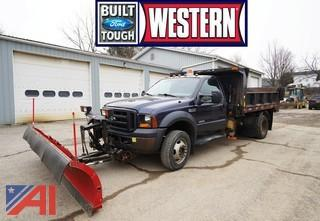 2006 Ford F550 All Season Dump Truck with Plow
