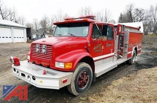1992 International/Darley 4900 Pumper Truck