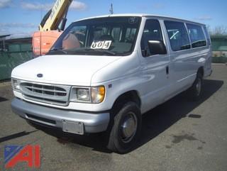 2001 Ford E350 Van #M330