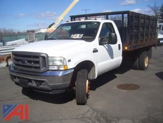 2004 Ford F450 Super Duty Stake Dump #M639