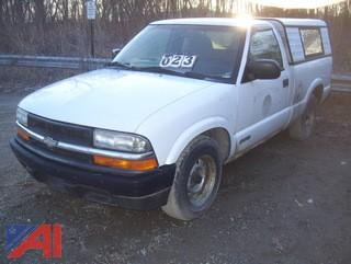 1998 Chevy S10 Pickup Truck #M272 (Parts Only)