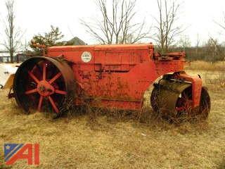 Buffalo Springfield Steel Wheeled Roller