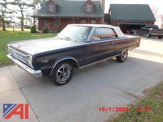 1966 Plymouth Sattelite Convertible Car