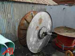 High Capacity Steel Hose Reel