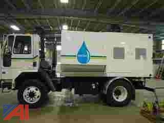 1999 FreightLiner/Sterling SC8000 Cabover/Tilt Cab Sewer Flushing Machine