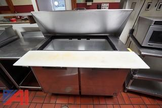 Hoshizaki 4' S/S Refrigerated Prep Table
