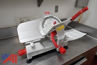 """Berkel 10"""" Meat Slicer with Blade Sharpener"""