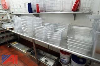 Assorted Clear Insert Storage Containers
