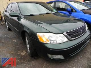 (#14) 2002 Toyota Avalon 4 Door