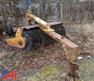 Hydraulic 6' Tow Behind Broom