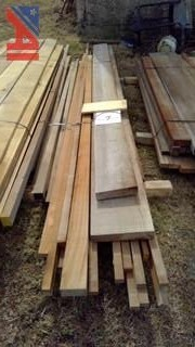 Mixed Hardwoods of Various Lengths