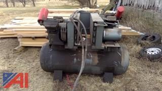 Ingersoll Rand 2425BR Dual Pump Air Compressor