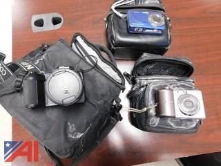 Camera's with Carrying Bags