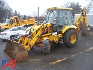 1995 JCB 214 Series 2 Loader Backhoe with Plow