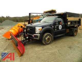 2012 Ford F550 Dump with Plow & Sander