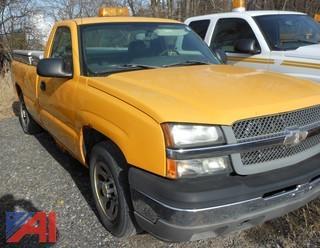 (#9F) 2005 Chevy Silverado 1500 Pickup Truck
