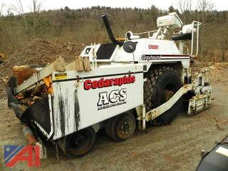 Cedar Rapids Grayhound CR351 Rubber Tire Asphalt Paver