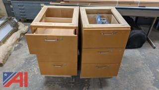 Cabinets with Lockable Drawers