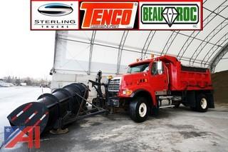 2005 Sterling DumpTruck with Plow and Spreader