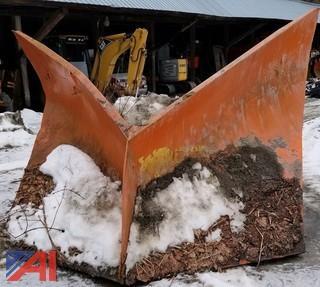 Large V Plow
