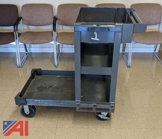Heavy Duty Janitor Cart