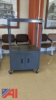 Bretford TV Cart