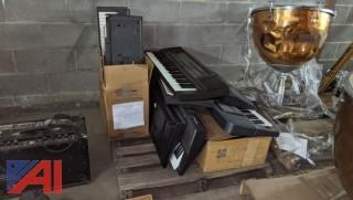 Lot of Various Musical Keyboards