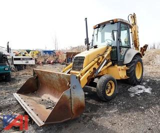1997 New Holland 555E Back Hoe with ExtendedBboom/153