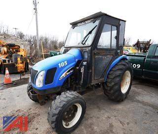 2007 New Holland TC45DA Utility Tractor/105