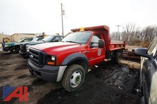 2007 Ford F450 XL Super Duty 1 Ton Dump Truck/35
