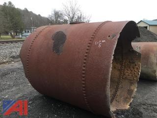 7' x 6' Steel Pipe