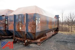 40 Yard Rolloff Steel Waste Container